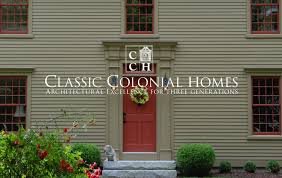 classic colonial homesclassic colonial homes