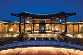 banyan tree lijiang resort in lijiang china