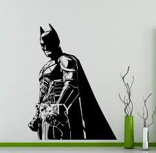 aliexpress com buy batman wall sticker dark knight superhero dc aliexpress com buy batman wall sticker dark knight superhero dc marvel comics vinyl decal home interior decoration nursery mural from reliable batman wall