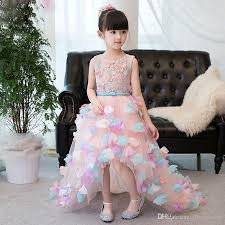2017 new china original design elegant prom dresses girls kids
