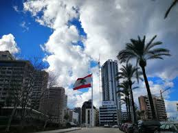 Libanese Flag All Of Us For The Nation For Glory And The Flag Beirut Lebanon