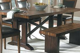 use picnic table as dining room style tablesurniture set bench