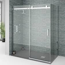 Ny Shower Door Frameless By Pass Sliding Shower Doors Are Affordable Nj Ny