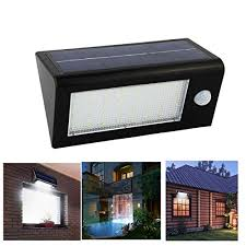 Motion Sensor Patio Light Senbowe New Upgrade 400 Lumen 32 Led Ip65 Waterproof Solar Motion