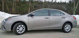 03 toyota corolla mpg 2014 toyota corolla le eco small sedan efficiency with a dose of