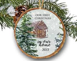 new home ornament etsy