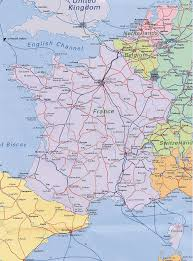 Toulouse France Map by France Train Map Recana Masana