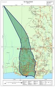 St Paul Campus Map St Paul U0027s Parish Nevis Disaster Management Department Ndmd