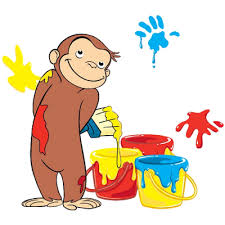 curious george clip art library