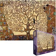 klimt tree of jigsaw puzzle 1000 pieces walmart