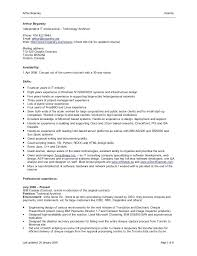 resume format word document sle resume word doc format topshoppingnetwork