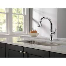 Delta Single Handle Kitchen Faucet With Spray by Kitchen Room Kitchen Excellent Silver Two Handle Delta Kitchen
