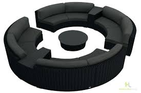 gray leather reclining sectional harmonia living urbana 7 piece