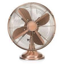ventilateur de bureau ventilateur de bureau rétro cuivre tristar ve5970 35w