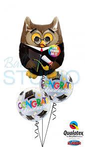 graduation congratulations bouquet 4 balloons vancouver jc balloon