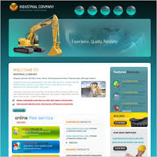 industrial company template free website templates in css html
