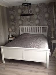 Ikea Hemnes Bed Frame Hemnes Bed Frame White Stain Double Ikea For The Home