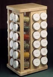 Spice Rack Countertop Spice Racks Hardwood Carousel Spice Racks