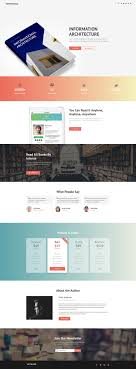 html5 templates for books 172 best landing pages images on pinterest