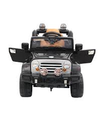 suv jeep black toyhouse suv jeep 6v rechargeable battery operated ride on black