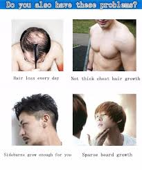 fast hair growth products alopecia pubic chest beards growth