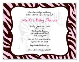 downloadable zebra print baby shower invitation template