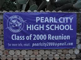 high school reunion banners calling all pchs alumni mypearlcity pearl city hawaii