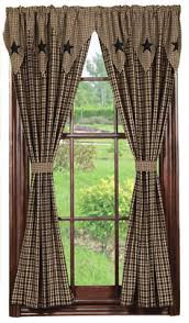 country living room curtains primitive country curtains kl primitives country decor