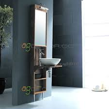Narrow Bathroom Vanities by Narrow Bathroom Cabinet With Mirror Www Islandbjj Us