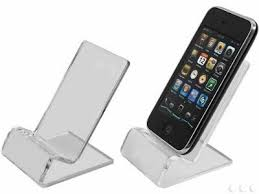 clear iphone stand for desk on the hunt
