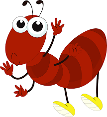 cute ant coloring page free clip art image 6352