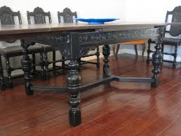 Spanish Style Dining Room Furniture Furniture Splendid Spanish Revival Dining Set Set Of Four Th