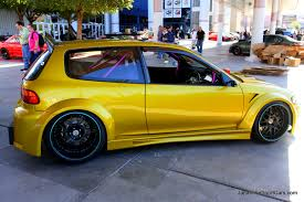 porsche 918 rsr binary honda civic hatchback modified car ong