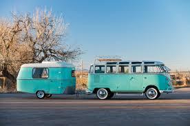 volkswagen camper trailer volkswagen 23 window microbus eriba puck camper