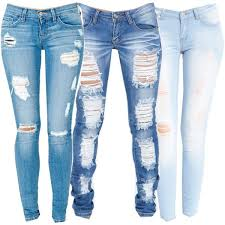 Light Wash Ripped Skinny Jeans Best 25 Light Blue Ripped Jeans Ideas Only On Pinterest Cute