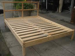 Bed Frame Diy Building Diy Platform Bed Raindance Bed Designs