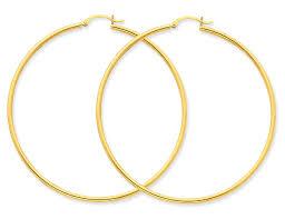 14k gold hoop earrings large 14k gold hoop earrings