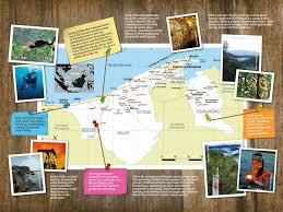 Brunei Map Jasra Harrisons Travel U2013 Brunei Tourist Info
