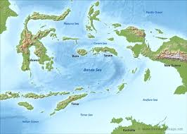 World Map Of Seas by Banda Sea Map By Freeworldmaps Net