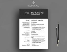 clear cv template 28 images the best resume templates