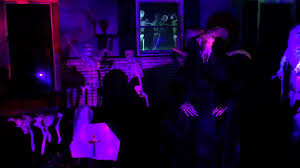 2015 atmosfear fx halloween yard display youtube