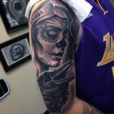 90 black ink tattoo designs for men dark ink ideas