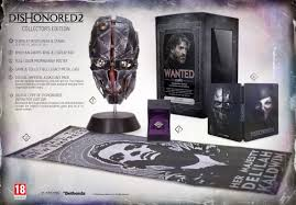 buy dishonored 2 collector u0027s edition on pc free uk delivery game