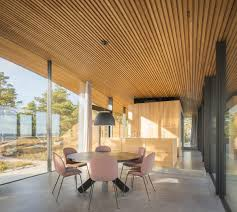 modern sea front summer glass house in finland idesignarch