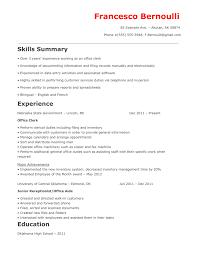 sample resume for data entry clerk office office clerk resume office clerk resume templates medium size office clerk resume templates large size