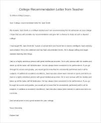 sample recommendation letters for student 7 examples in pdf
