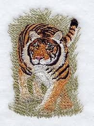 bengal tiger 2 embroidery design bengal tiger bengal and