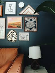 before and after a moody boho sitting room hey wanderer