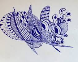 doodle drawing etsy