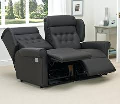Grey Leather Reclining Sofa Grey Leather Reclining Sofa Set Corner Recliner With Awesome White